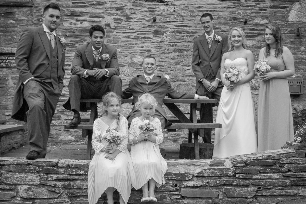 Cath + Ryan's Cornwall Wedding
