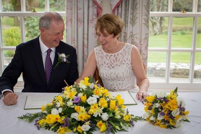 Ray + Nicola's wedding - Rose In Vale Hotel - Cornwall