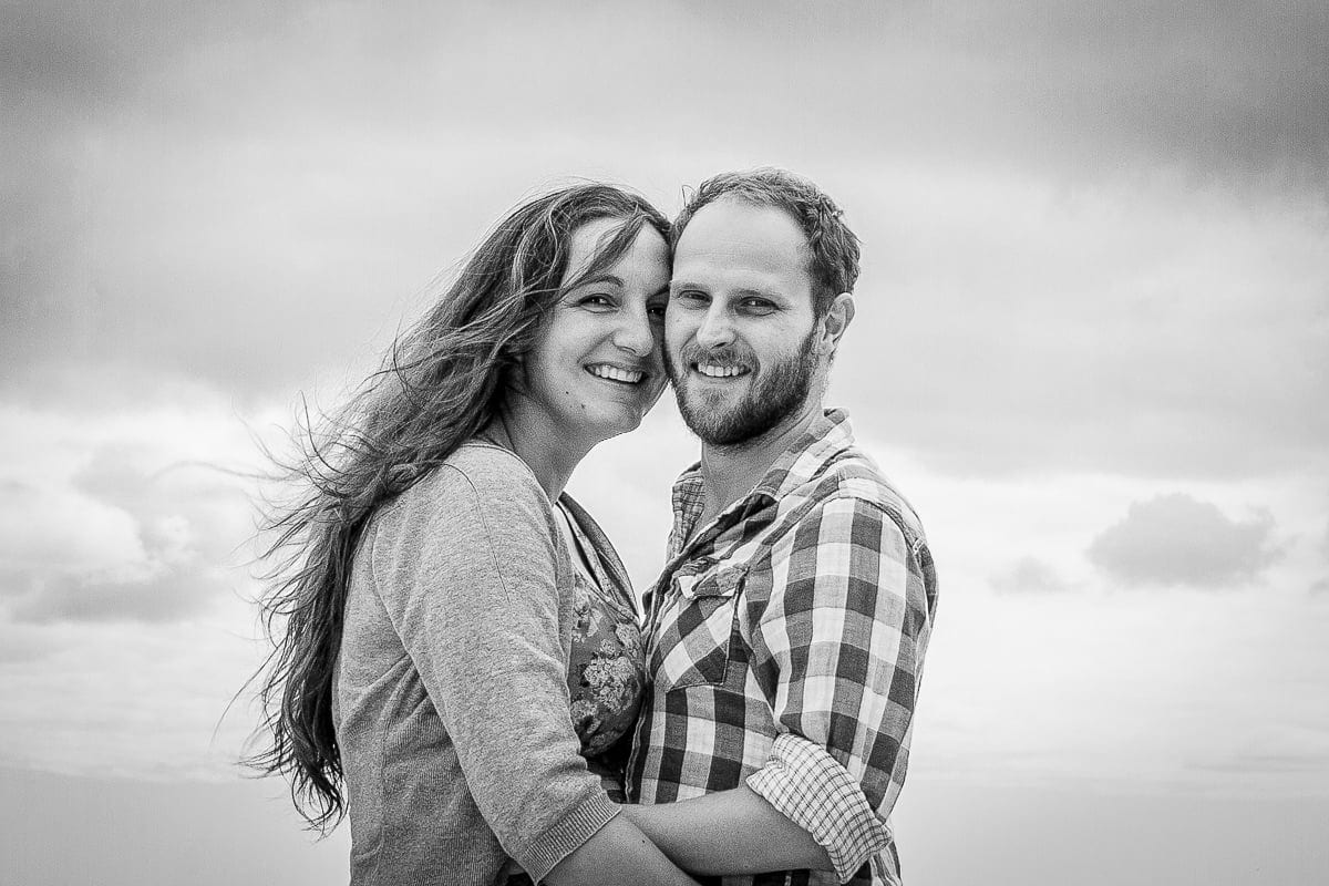 Gemma + Ross - Falmouth Engagement Shoot