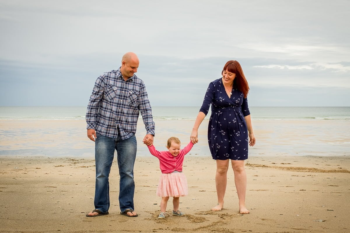 Jen + John - Engagement Shoot - Watergate Bay - Newquay-8