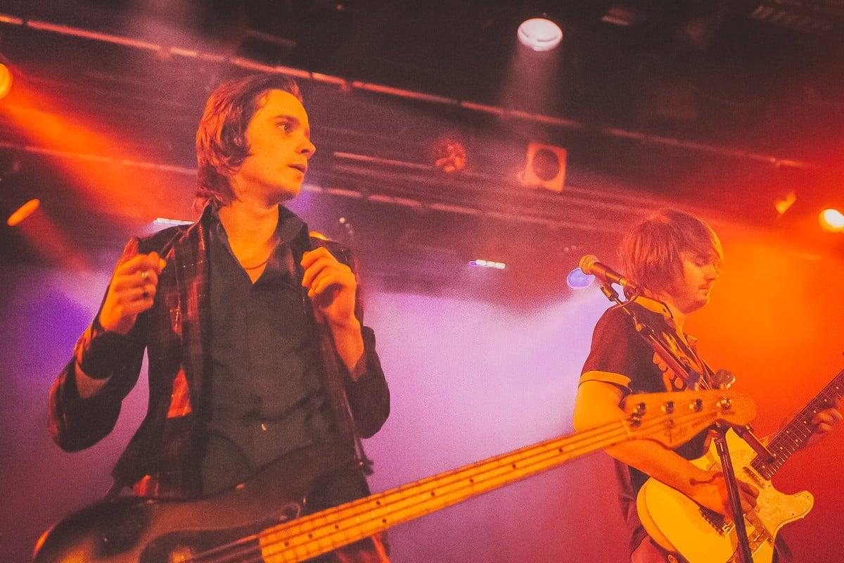 Palma Violets + Yak - Live - Falmouth