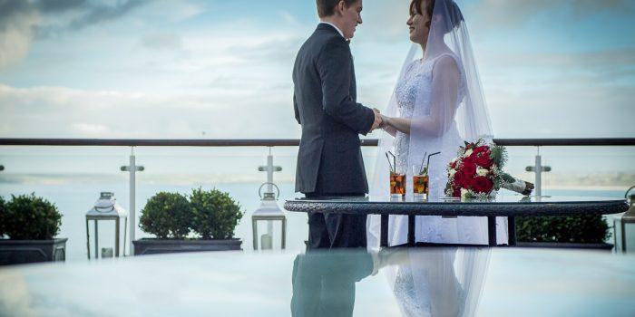 St Ives Harbour Hotel Wedding - Vikki & Lawrence