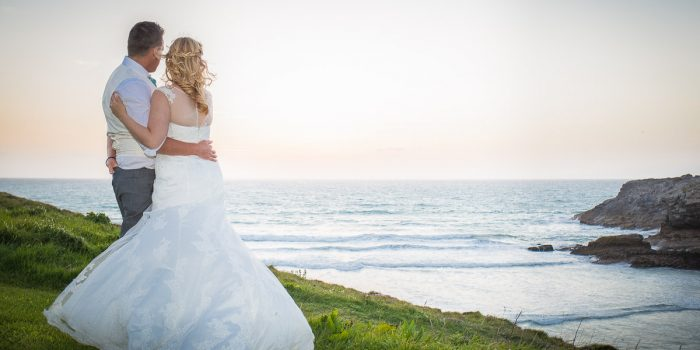 Glendorgal Hotel Wedding, Newquay - Sam & Kyle
