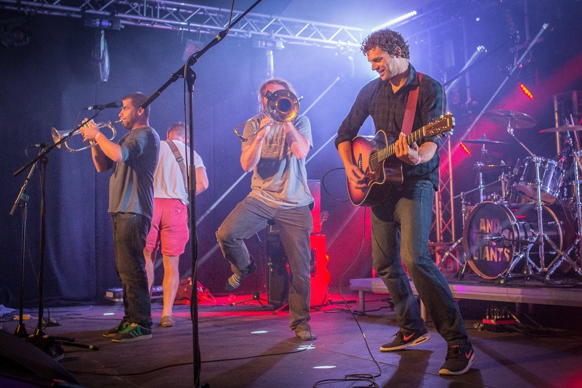 Land Of The Giants - Live - Falmouth Week
