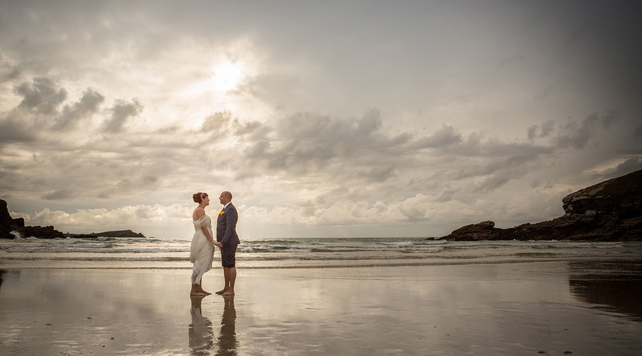 Jen + John - a wedding at Porth Veor Manor, Newquay