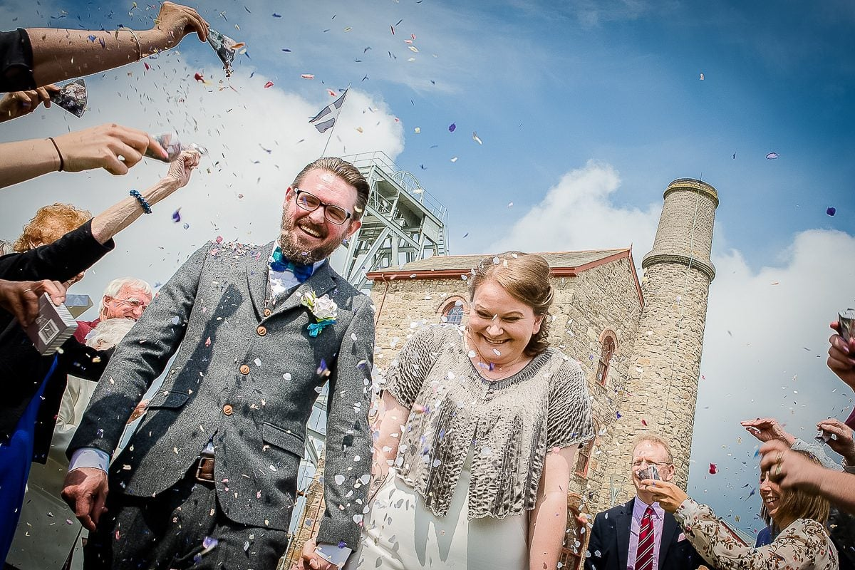 Alex & Brendon - Heartlands Cornwall Wedding