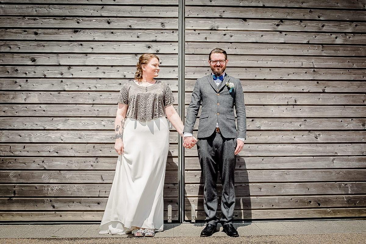 Alex & Brendon - Heartlands Cornwall Wedding