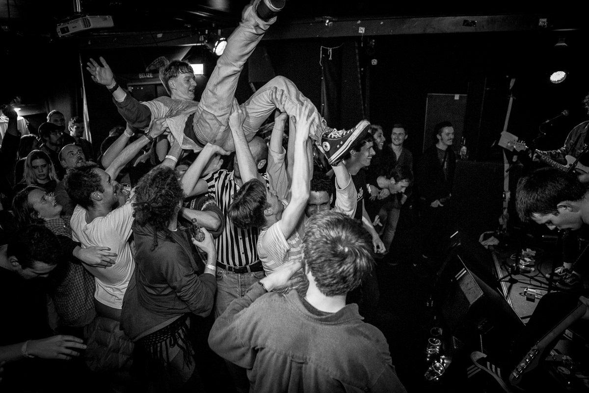 Black Tambourines - Live - Mono, Falmouth