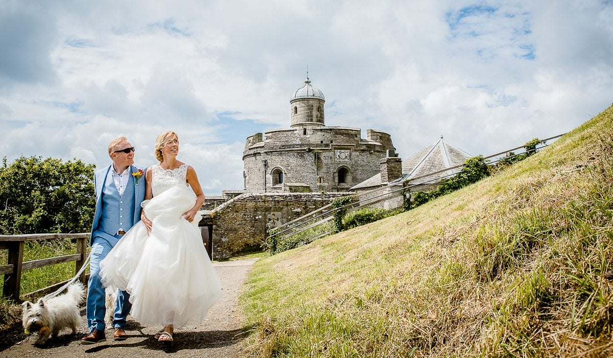 Emma & Mark - St Mawes Wedding