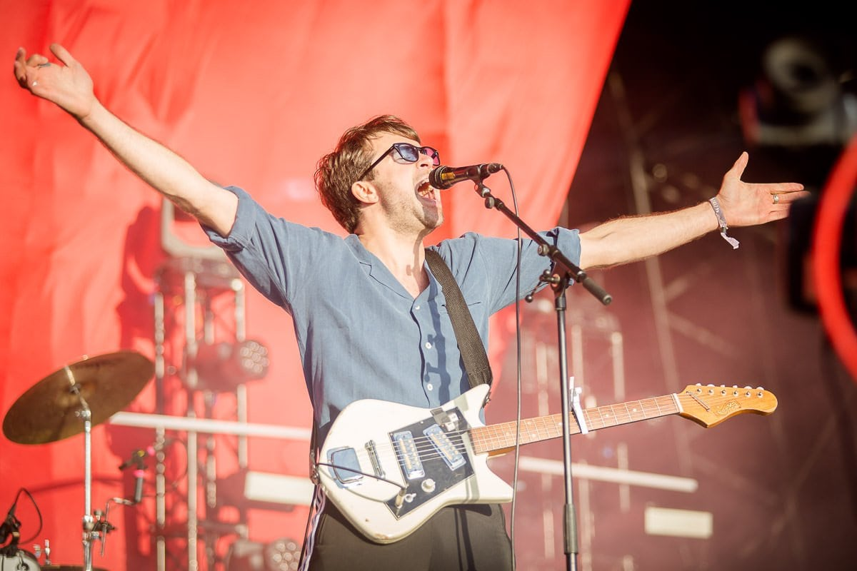 the vaccines live at boardmasters