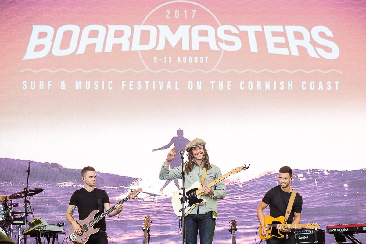jp cooper live at boardmasters