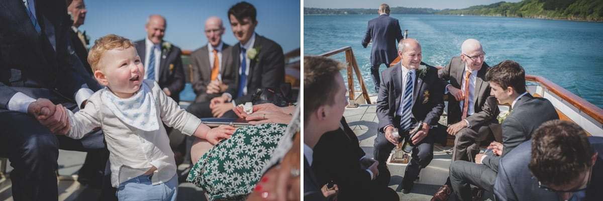 fal river ferry wedding