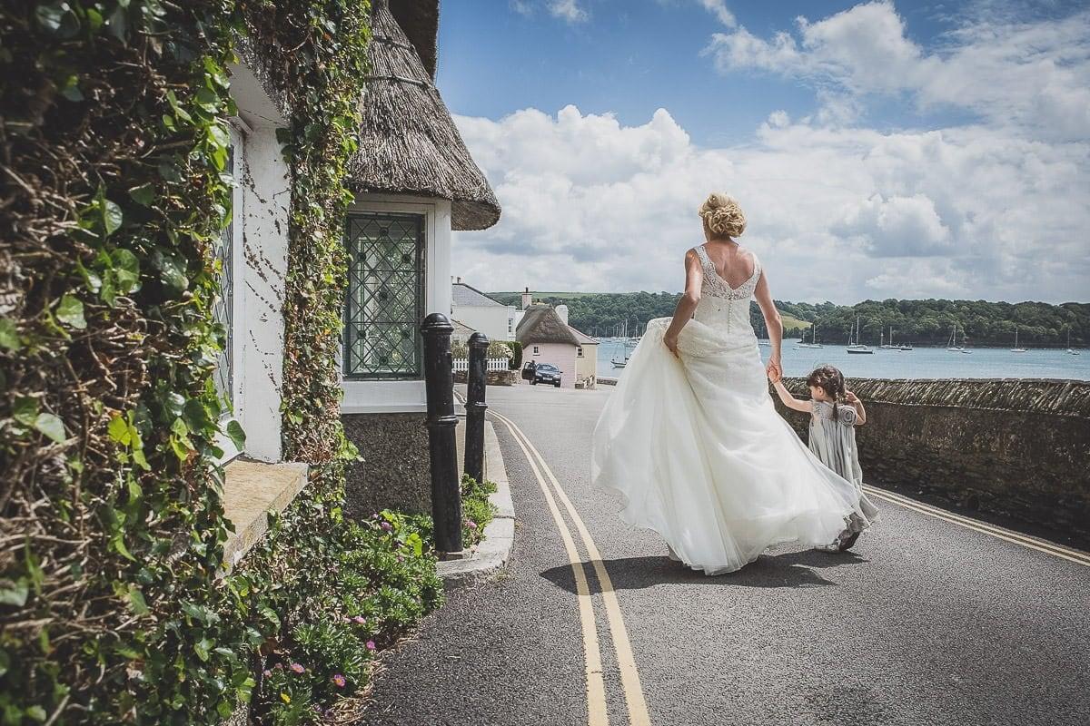 wedding dress cornwall