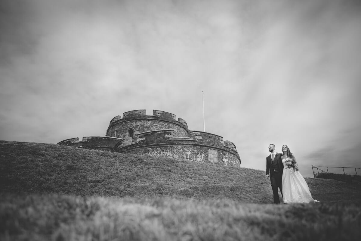 St Mawes Castle Wedding