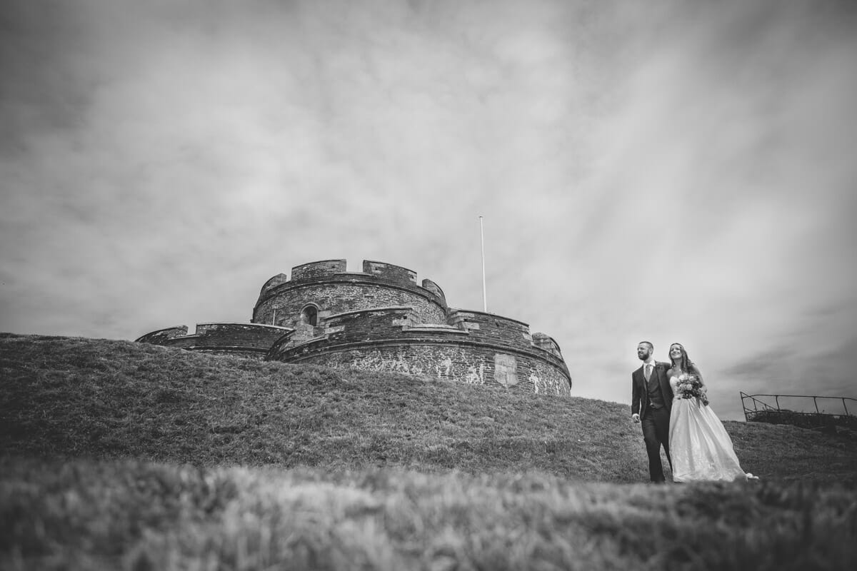 Caroline & Mark - St Mawes Castle Wedding