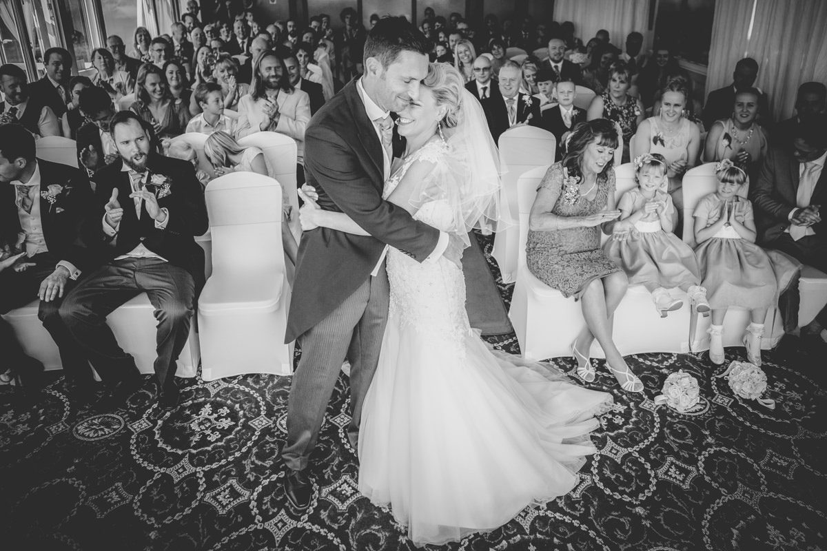 Falmouth Hotel Wedding - Victoria & James