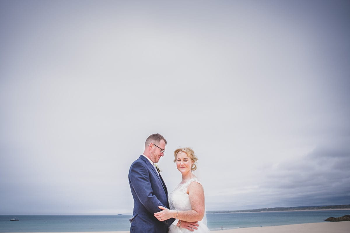 t Ives Wedding Photographer | Michelle & Andrew