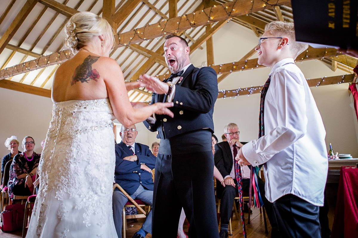 Tregedna Farm Wedding | Brian Robinson Photography
