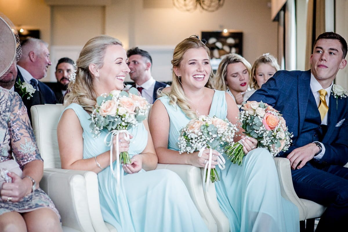 Carlyon Bay Hotel bridesmaids