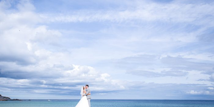 st ives harbour hotel wedding - rachel & jamie