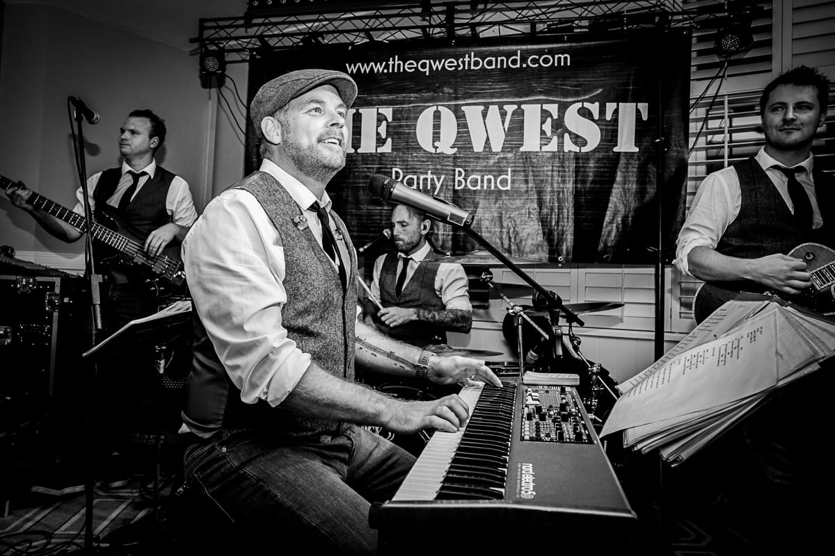 the qwest party band
