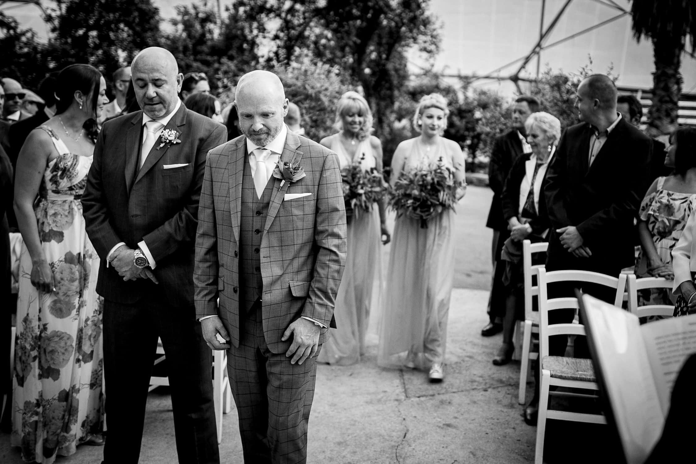 eden project wedding ceremony