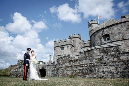Pendennis Castle Wedding