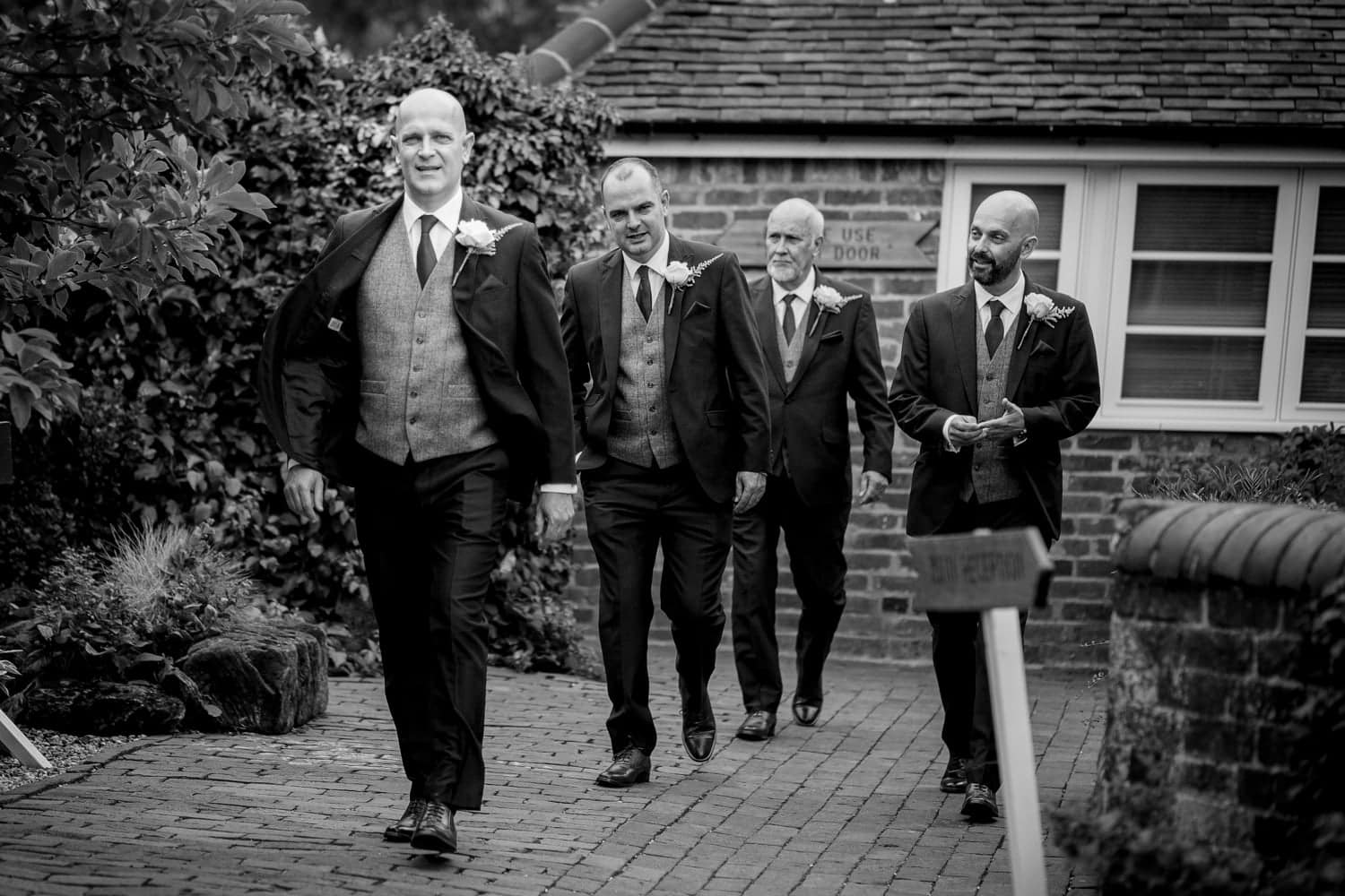 Curradine Barns Groomsmen