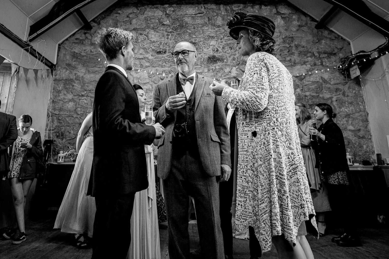 wedding guests cornwall