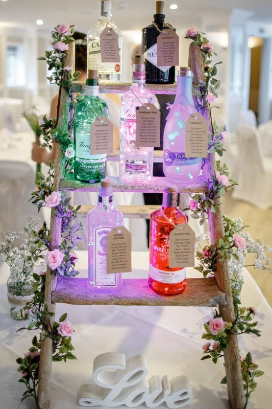 wedding gin cornwall