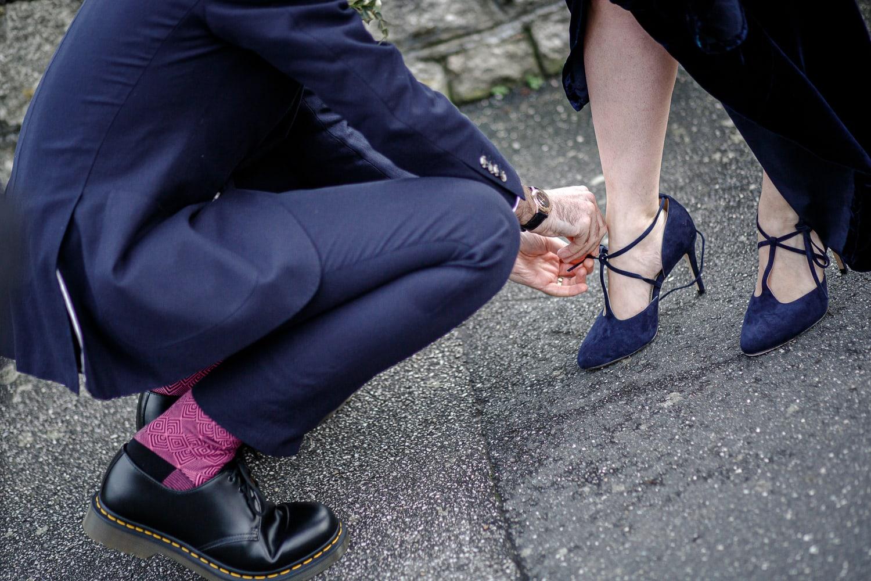 bride & groom cornwall