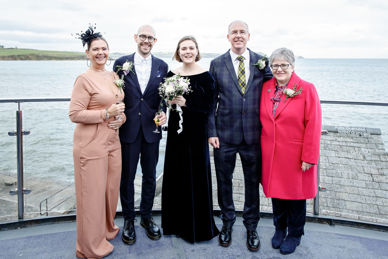 harbour club portscatho wedding